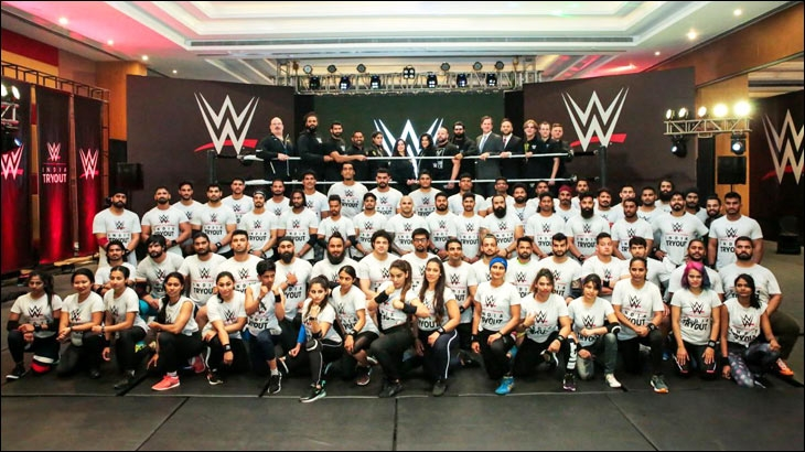 WWE India Tryout participants 2019