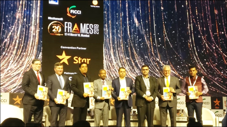 The FICCI Frames 2019 event in Mumbai