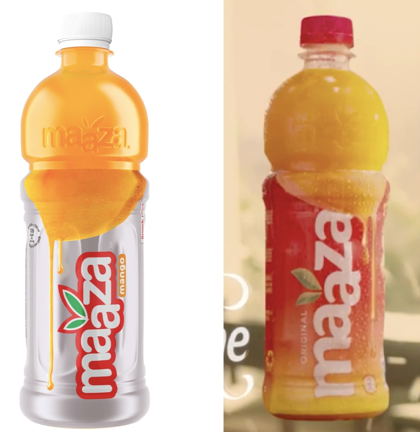 Maaza shows off new bottle packaging in formulaic ad