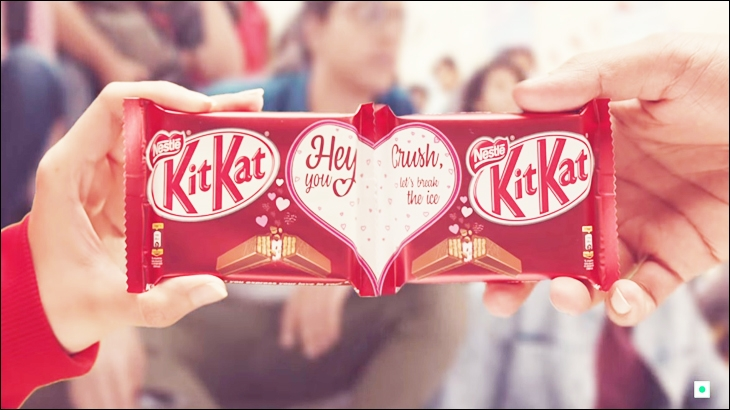 Kit Kat's latest Valentines Day special packaging