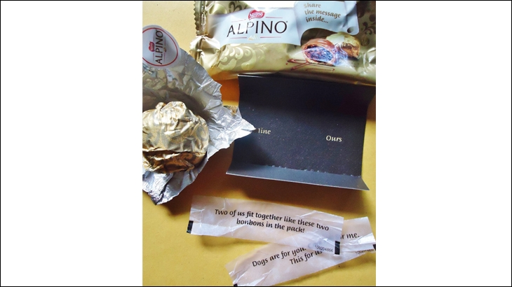 Alpino wrapper messages. Source - Chocosophy