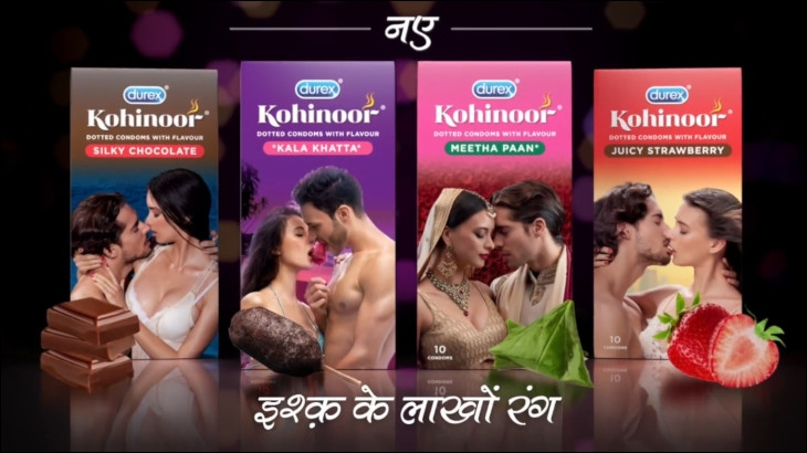 Durex India's special flavoured condoms