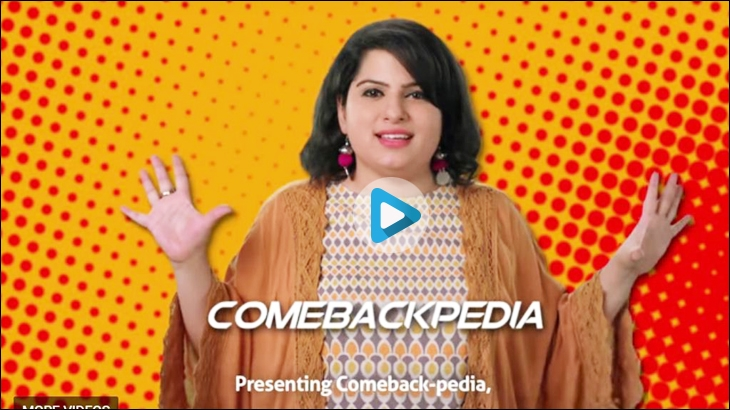 Mallika Dua features in the campaign for the Grand i10 called 'comebackpedia'
