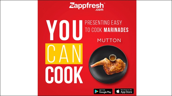 Zappfresh digital ad