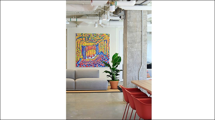 A glance at WeWork's coworking space