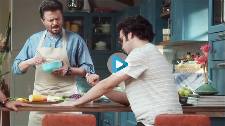 Global music streaming app Spotify rolls out this campaign on TV and digital around the ongoing cricket World Cup with Bollywood on its playlist and starring actors Anil Kapoor and Ishaan Khattar as brand endorsers