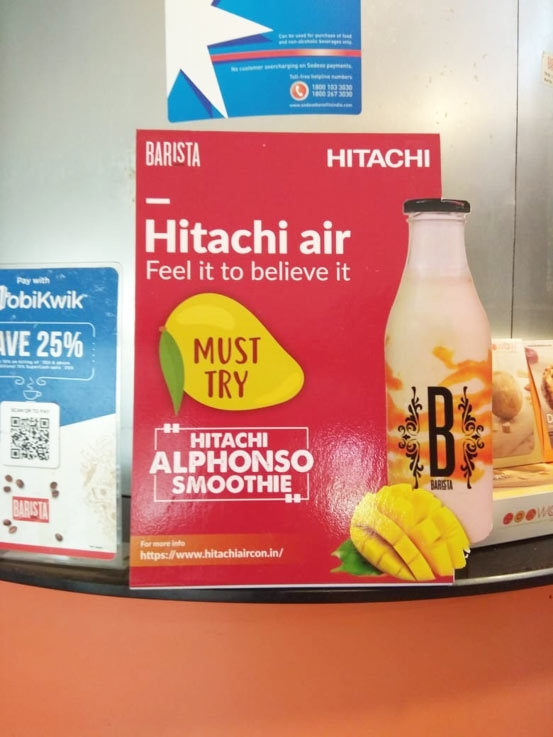 Why Is Hitachi Trying To Sell Mango Smoothies