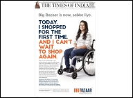 As Big Bazaar makes over 140 stores wheelchair-fri