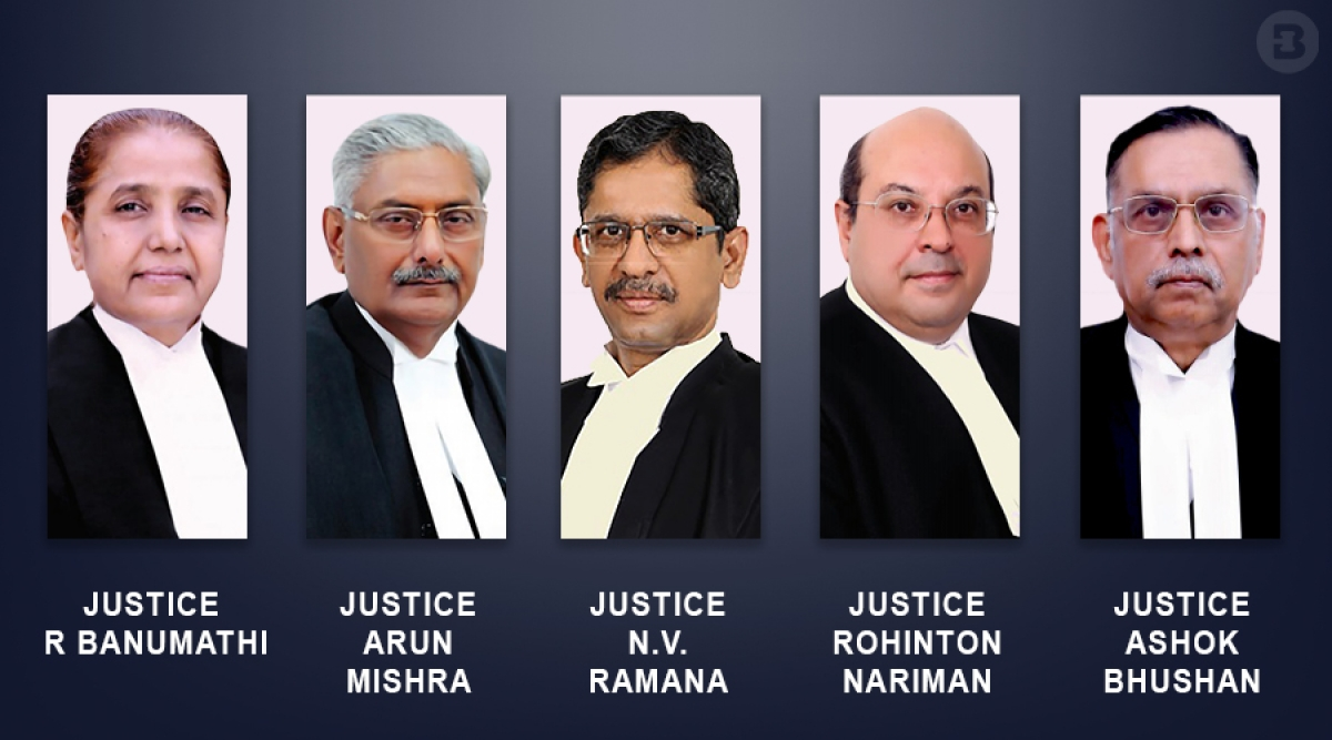 The five-Judge Bench that heard the Curative Petitions filed in the Nirbhaya case
