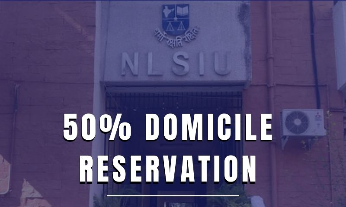 Bangalore Advocates Association urges Karnataka Law Minister to increase domicile reservation at NLSIU to 50%