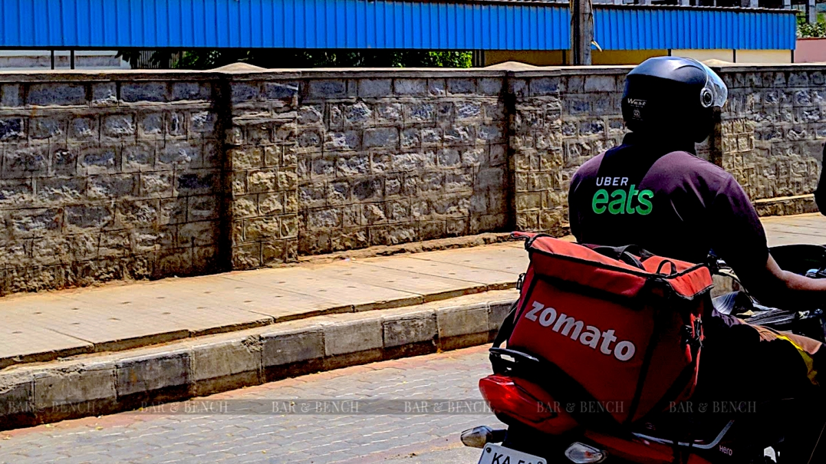 Zomato and Uber Eats Delivery