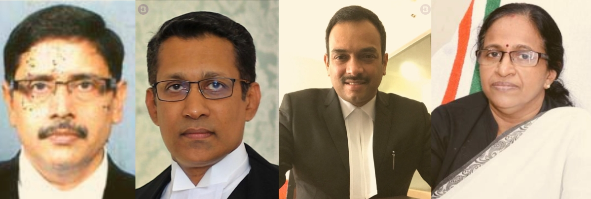Four Additional Judges appointed for Kerala High Court