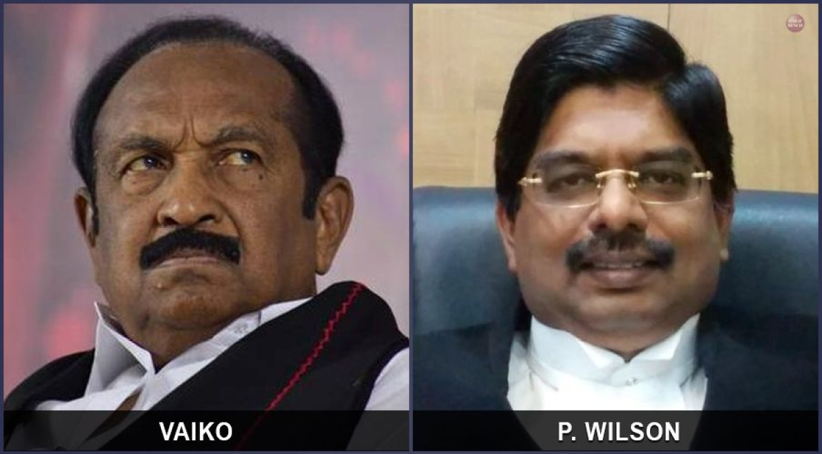 Vaiko, P Wilson raise demand in Rajya Sabha for setting up Regional Benches of Supreme Court