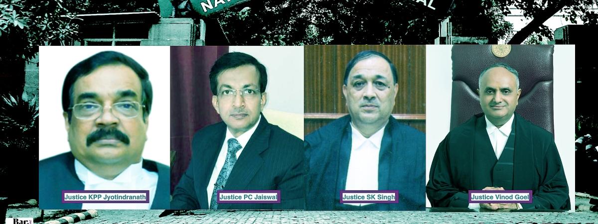 New NGT Members Justices KPP Jyotindranath, PC Jaiswal, SK Singh and Vinod Goel