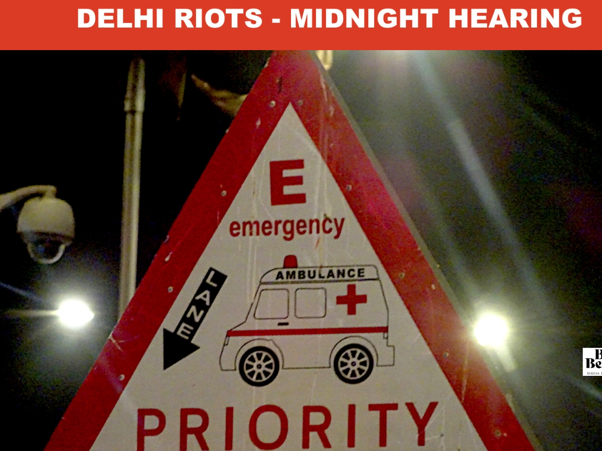 Hearing at 1 AM at Justice Muralidhar Residence: Delhi HC directs Police to provide safe passage to injured victims to Govt hospitals