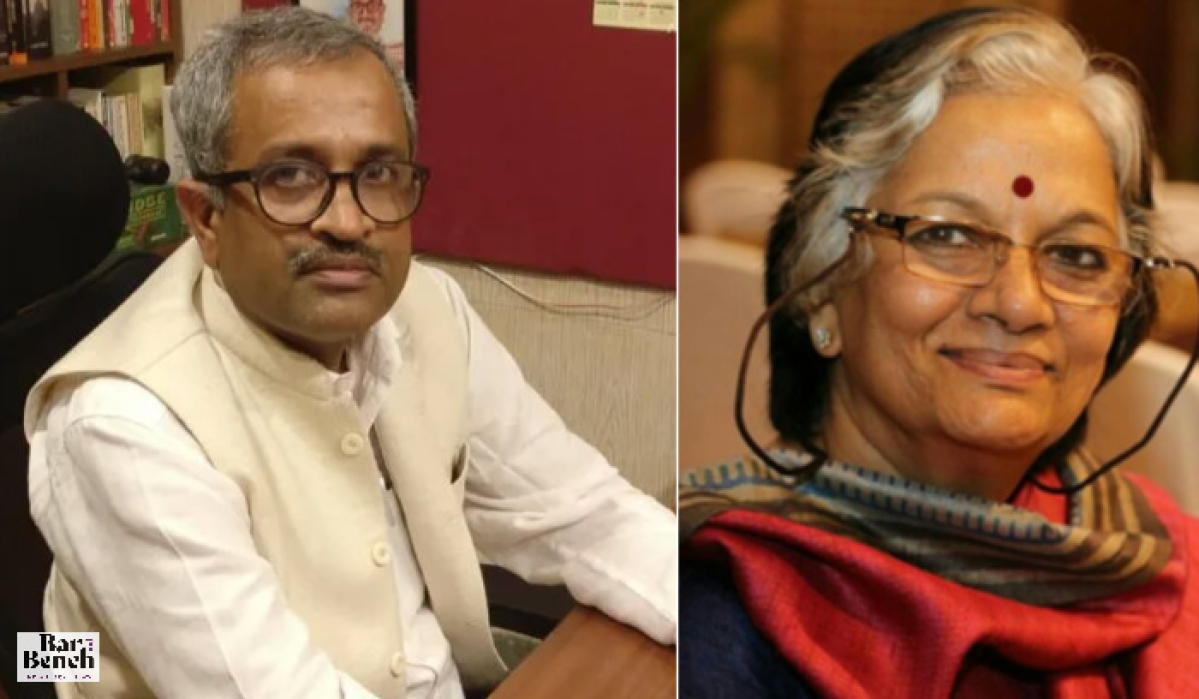 Senior Advocate Sanjay Hegde and Advocate Sadhana Ramachandran