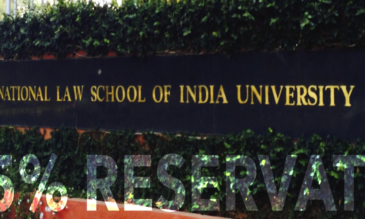 The National Law School Of India (Amendment) Bill passed by the Assembly; 25% reservations to locals [READ BILL]
