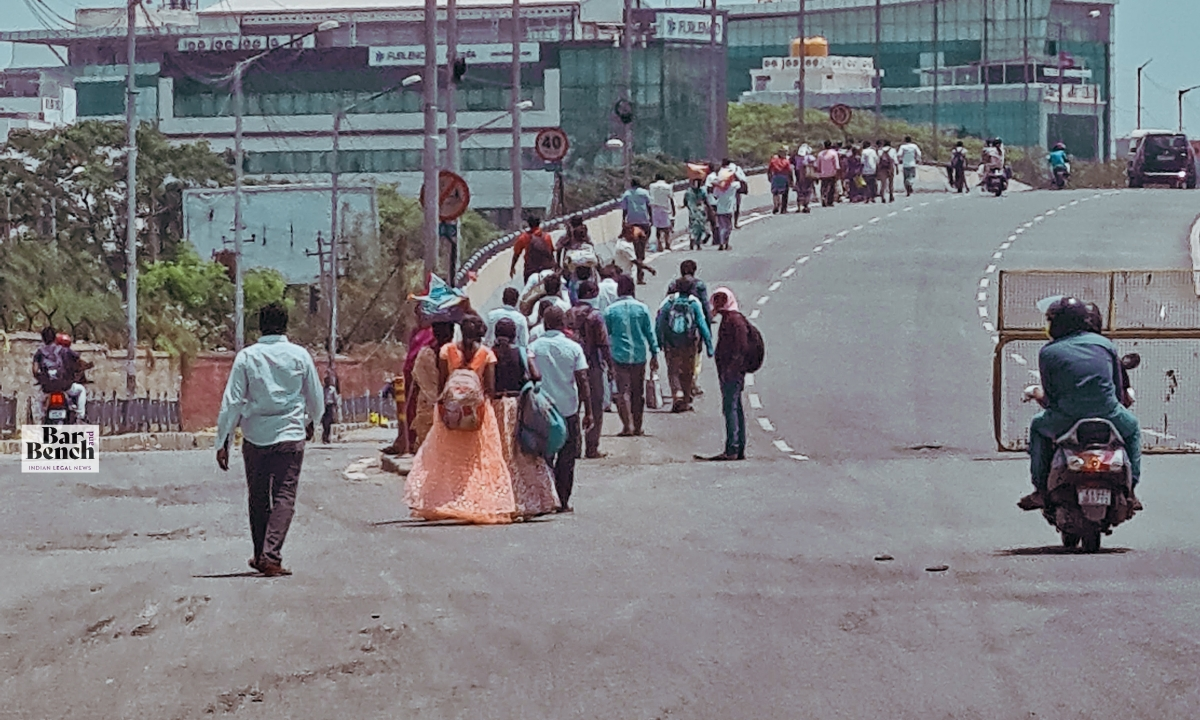 Coronavirus Lockdown effect on migrant workers: Centre to file affidavit on steps taken to mitigate crisis by Tuesday
