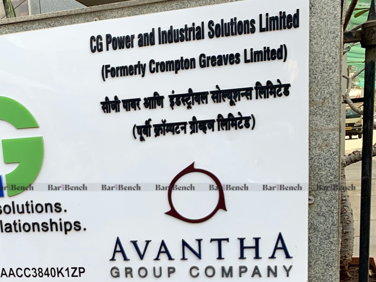 NCLT allows Centre's plea to re-open accounts of CG Power & Industrial Solutions