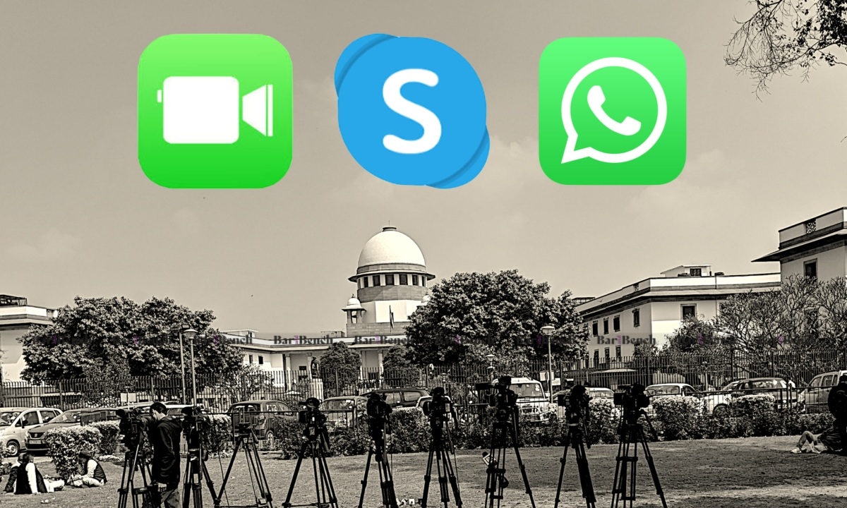 Supreme Court to continue hearing matters of extreme urgency also through Facetime, Skype, Whatsapp
