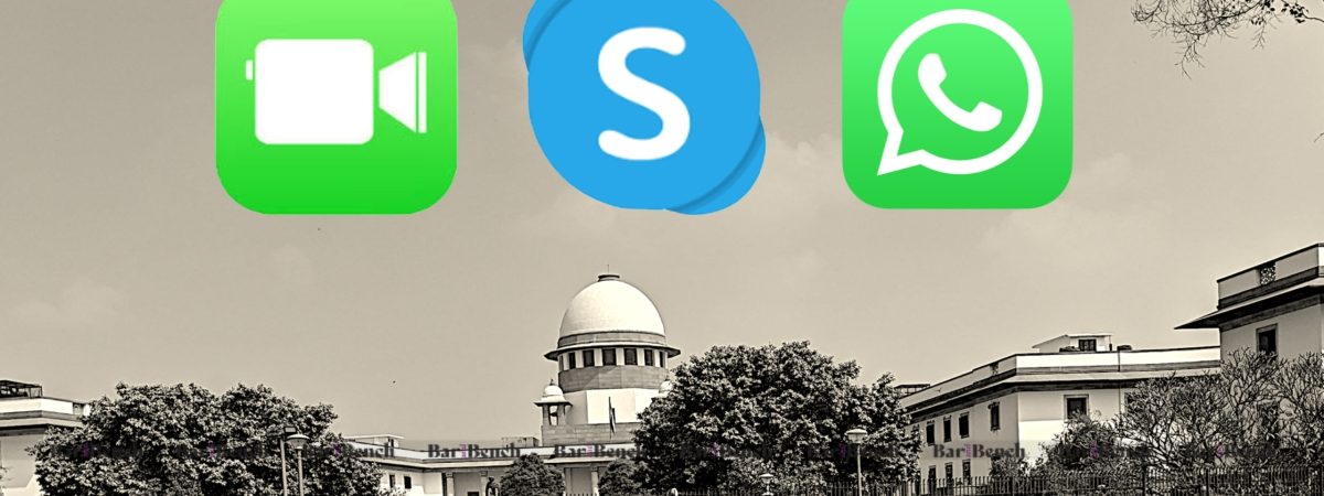 Facetime Skype and WhatsApp
