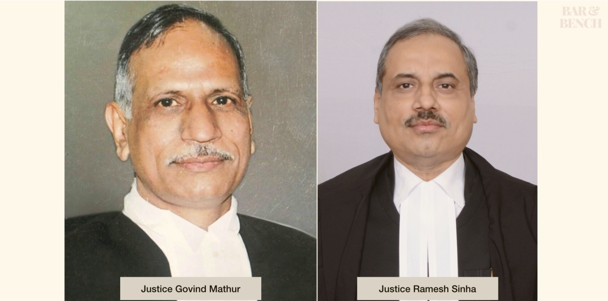 FIR registered against unknown persons for making objectionable comments on Allahabad HC CJ Justice Govind Mathur, Justice Ramesh Sinha