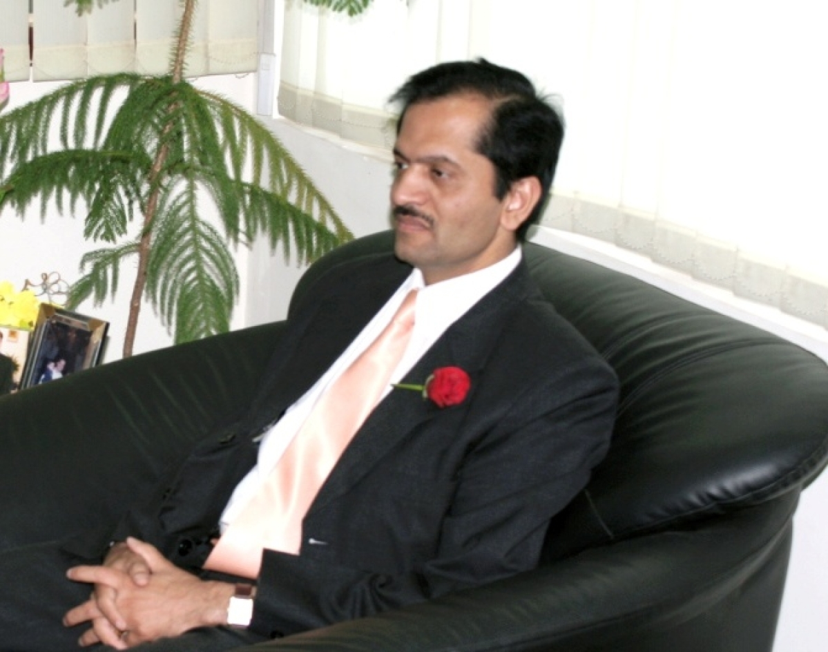 Interview with Bimal Patel Vice Chancellor at GNLU