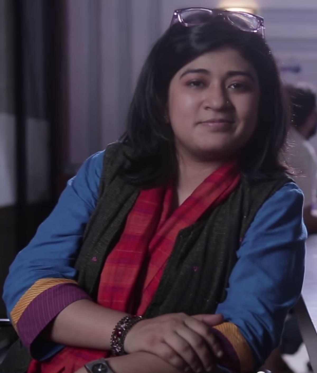 The Lawyer and the Comedian: Nidhi Bisht for #WorkingTitle