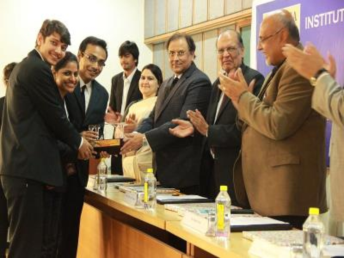 NLUO wins the 5th ILNU Moot Court Competition, ITM Gurgaon clinches second