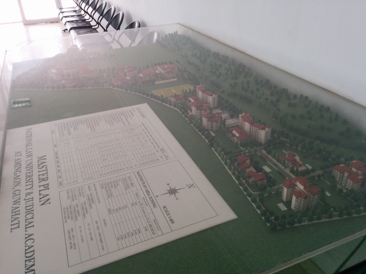 NLUJAA's Proposed Campus