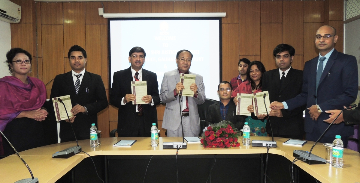Chief Justice of Gauhati HC launches two NLU Assam journals