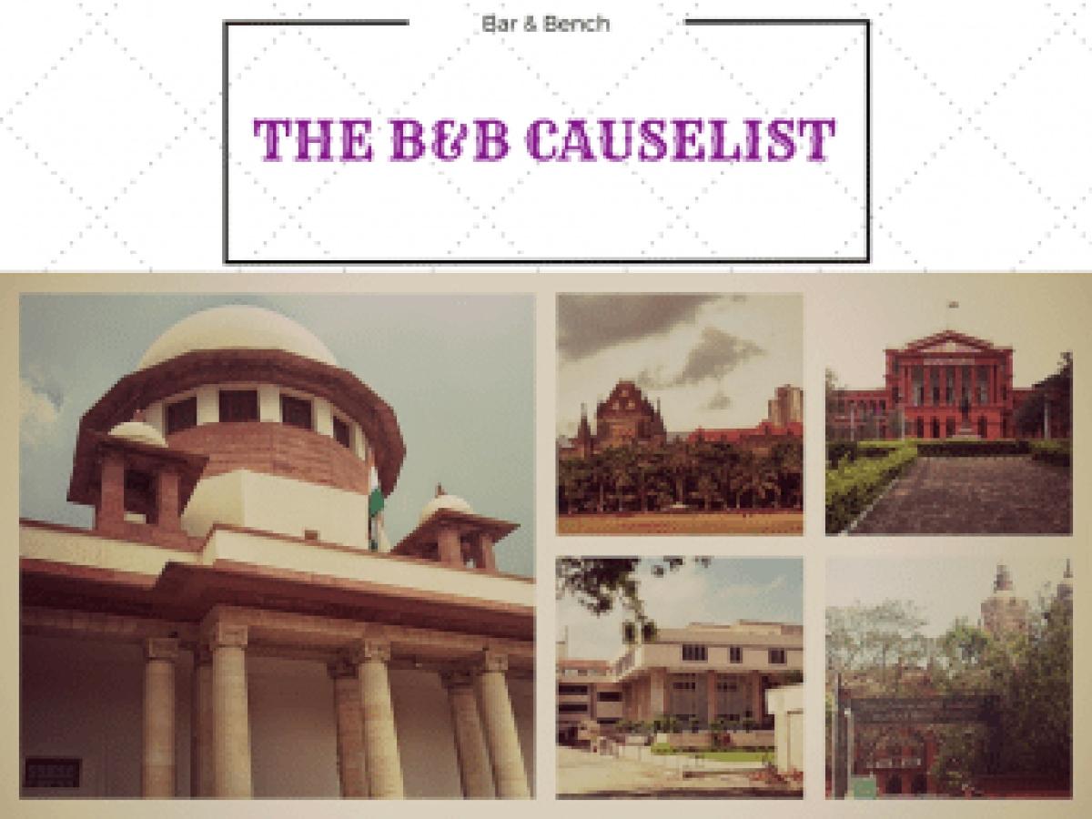 B&B Causelist,
