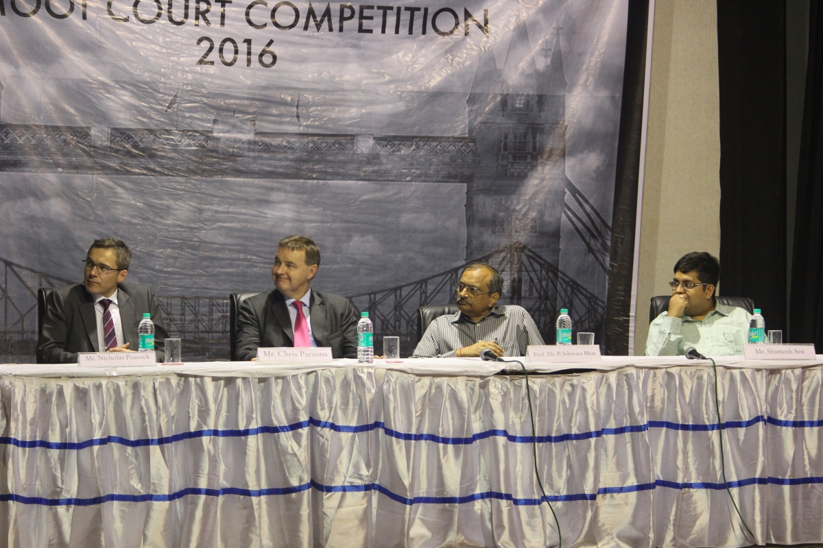 NLSIU, Bangalore wins the 8th NUJS-HSF National Corporate Law Moot Court Competition