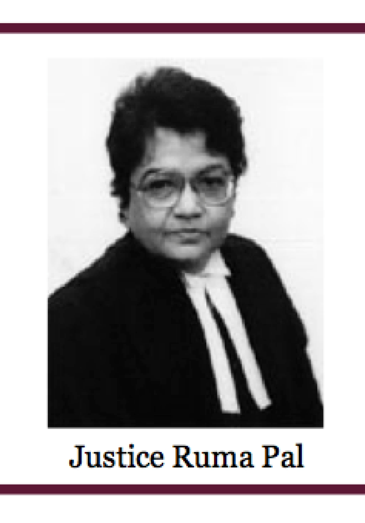 The Supreme Court of India has been functioning with one woman judge for the last two years