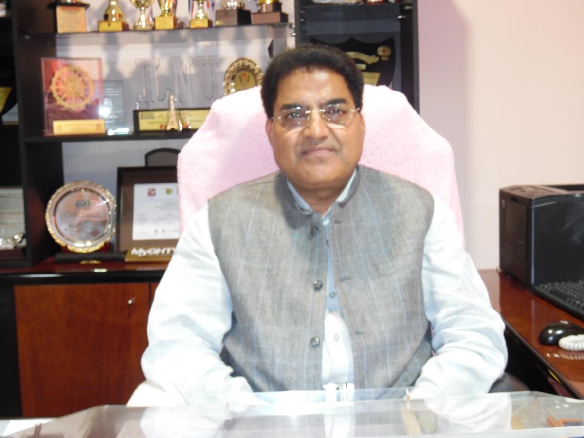 Prof Sukh Pal Singh, HNLU Vice-Chancellor