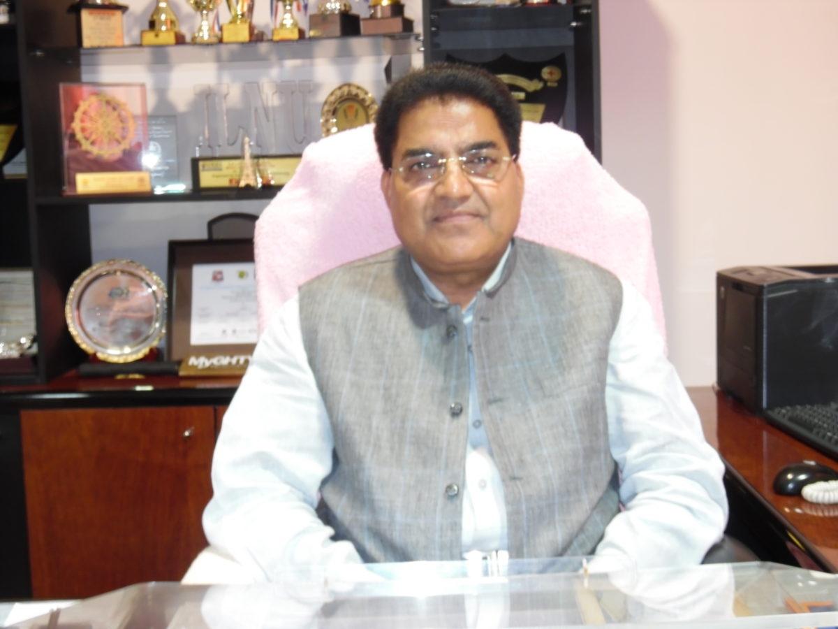Prof Sukh Pal Singh, Vice-Chancellor of HNLU Raipur