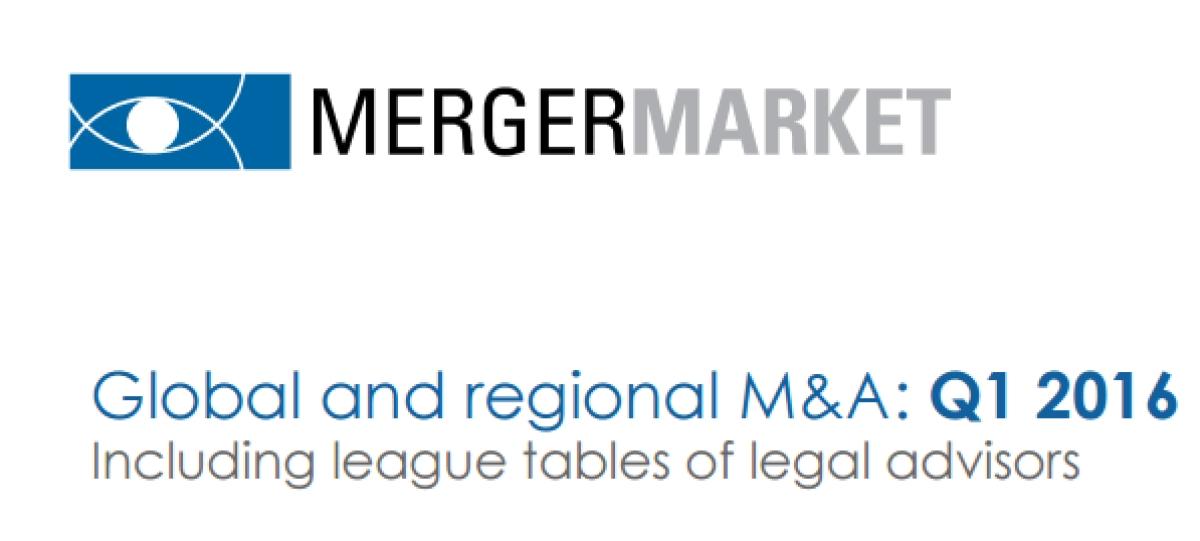 Mergermarket Q1 2016: Cyril Amarchand tops deal value table, Khaitan has most deals