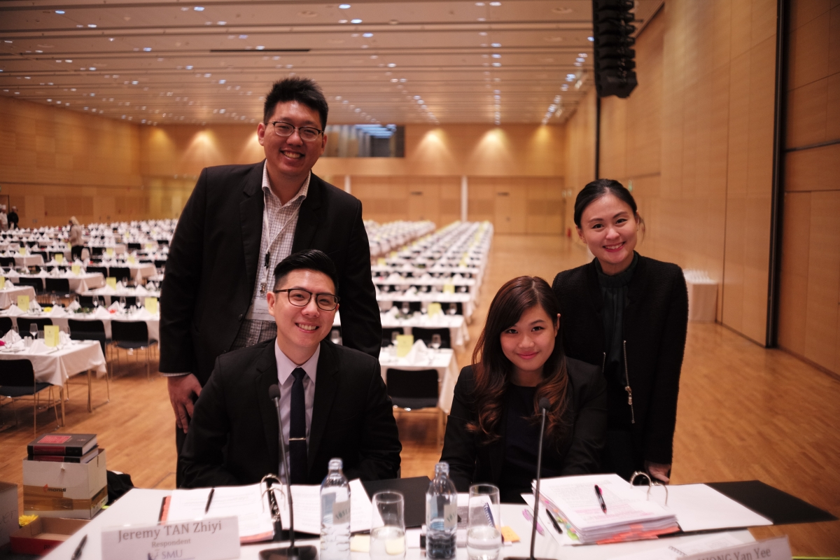 Meet the team from Singapore Management University, runners-up at Vis Vienna