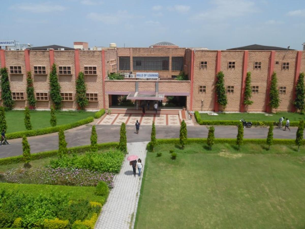 The NLU J campus