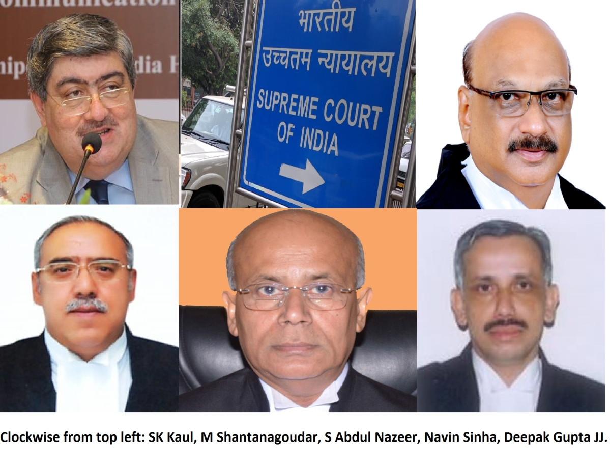 Supreme Court's strength to rise to 28, five new judges to be sworn in tomorrow