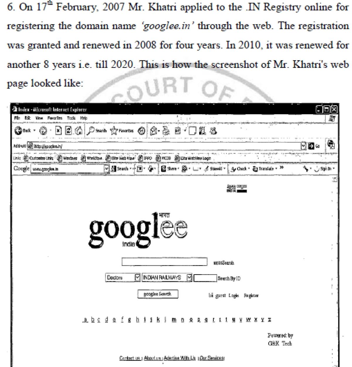 """""""The Court's DRS concurs"""": Muralidhar J raises the finger in 'googlee' infringement case"""