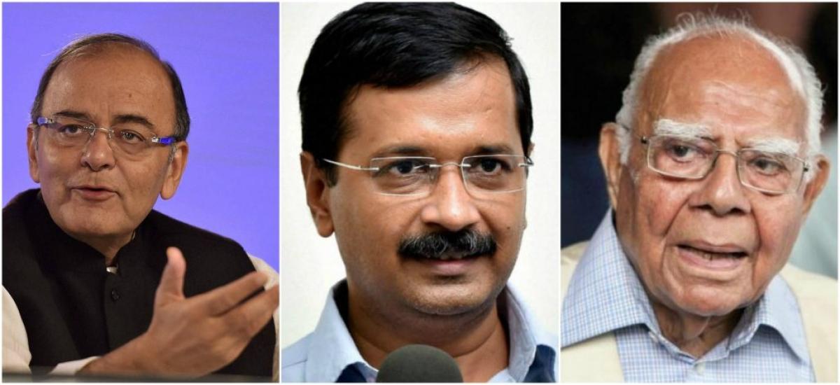 Arun Jaitley asks Delhi High Court to ensure order During Cross Examination by Jethmalani