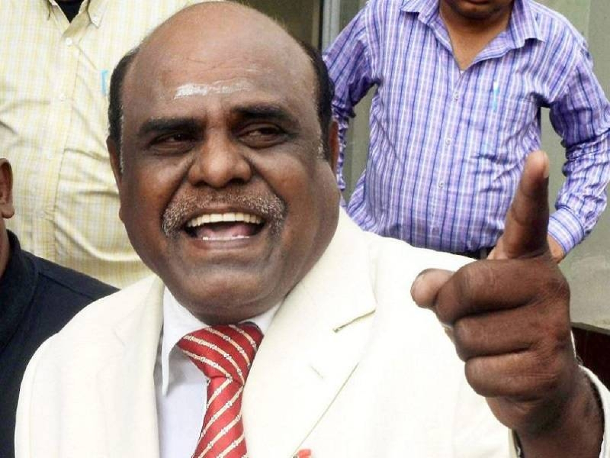 Justice CS Karnan, who was jailed for contempt by the Supreme Court this year.