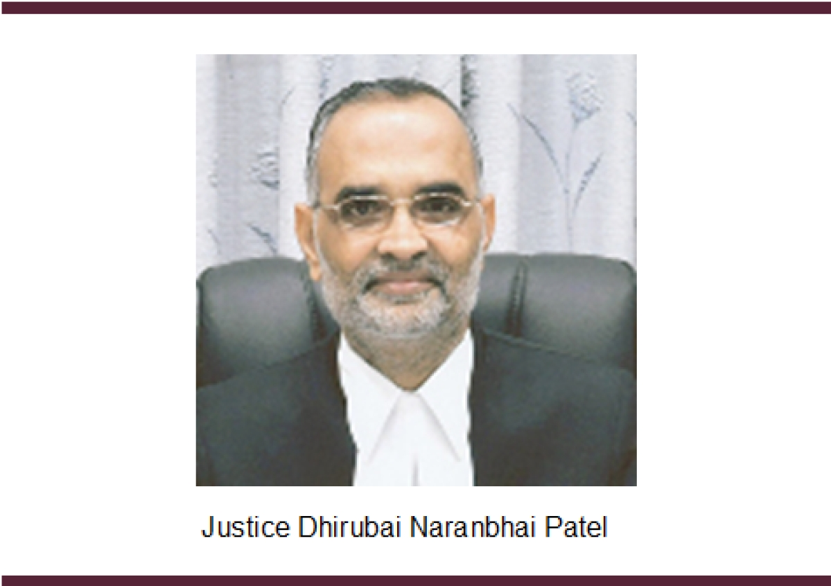 Dhirubhai Naranbhai Patel J. to take over as acting Chief Justice of Jharkhand High Court for the third time