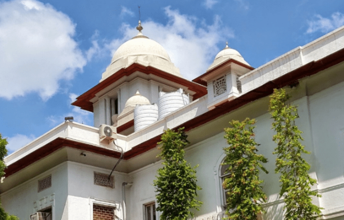 The Patiala House Court, where the Delhi High Court used to operate from