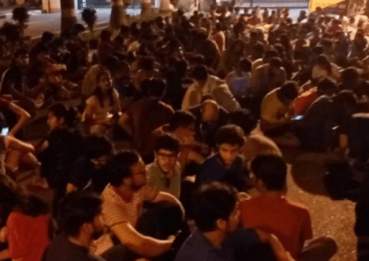 Protests at RMLNLU continue despite constitution of Judicial Inquiry Committee