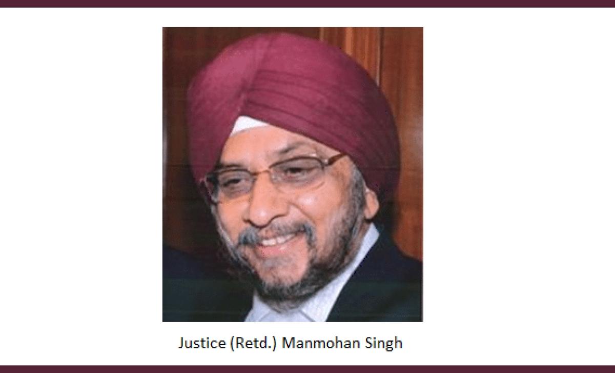 Centre notifies continuation of Justice (retd) Manmohan Singh as IPAB Chairman