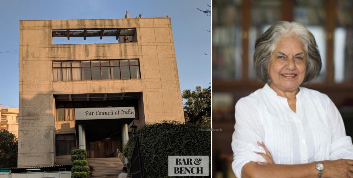 BCI urges Indira Jaising to withdraw tweet against Supreme Court judges