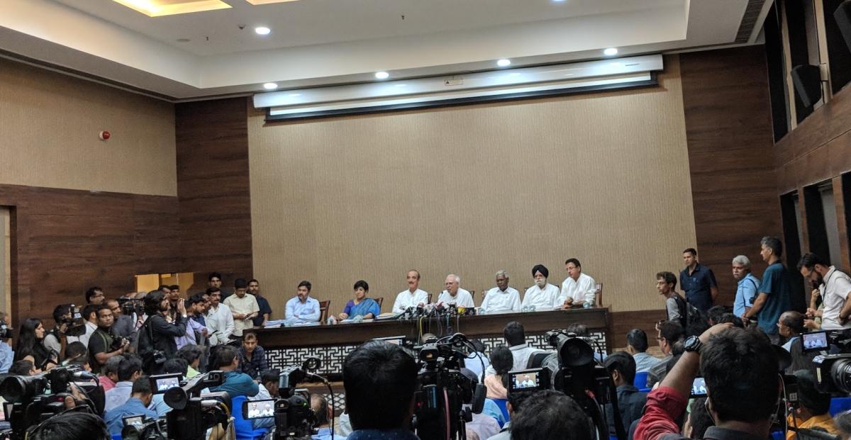 CJI Dipak Misra Impeachment: 71 Rajya Sabha MPs sign LIVE UPDATES