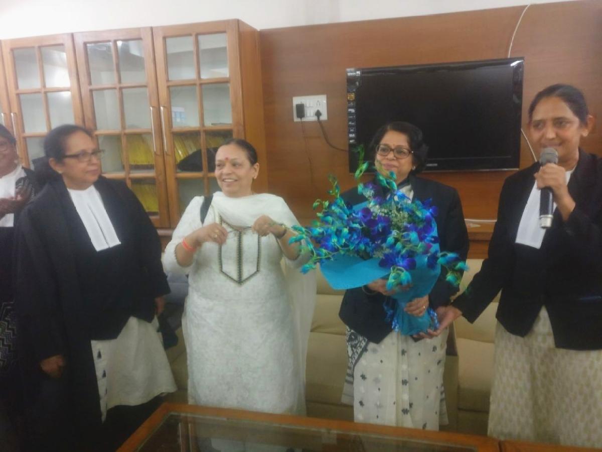 Bar felicitates Justice Indu Malhotra